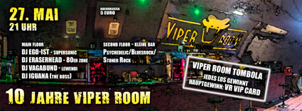 10 JAHRE VIPER ROOM: DJ NIGHT