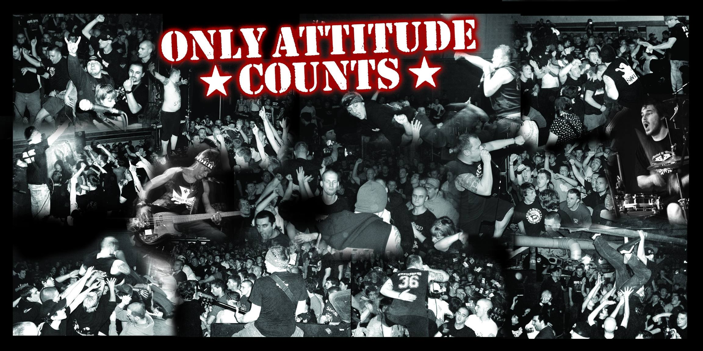 Live: ONLY ATTITUDE COUNTS, SENSE OF JUSTICE, HOOKLINE (ACHTUNG: Absage Agnostic Front)