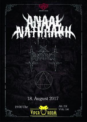 Live: ANAAL NATHRAKH, THEOTOXIN, ESCHATON