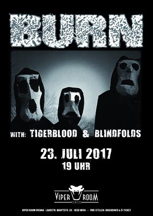 ABGESAGT!! Live: BURN, TIGERBLOOD, BLINDFOLDS