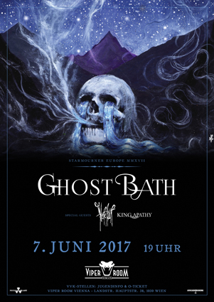 Live: GHOST BATH, HERETOIR, KING APATHY