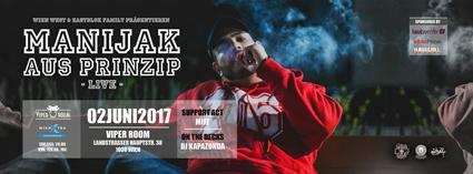 """Live: MANIJAK """"Aus Prinzip"""" Releasefeier"""