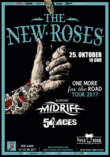 Live: THE NEW ROSES, MIDRIFF, 5 ACES