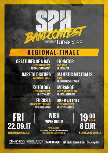 Live: SPH Bandcontest - Regionalfinale
