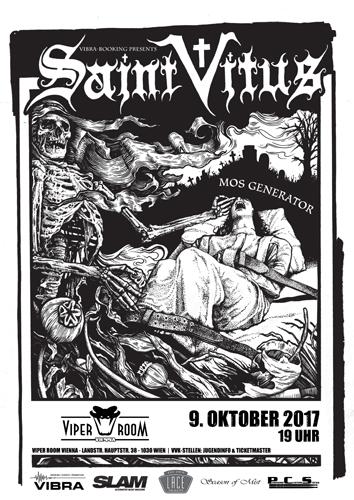 Live: SAINT VITUS, MOS GENERATOR