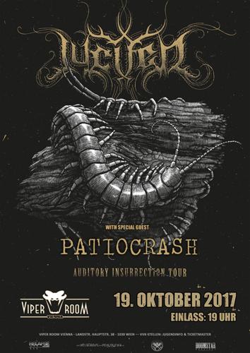 Live: JUCIFER, PATIOCRASH