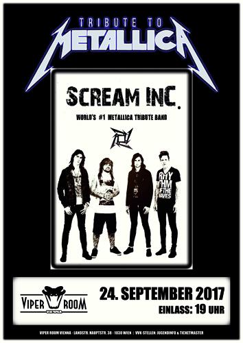 Live: SCREAM INC.