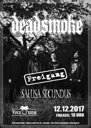 Live: DEADSMOKE, FREIGANG, SALUSA SECUNDUS