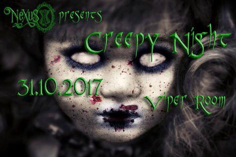 CREEPY NIGHT HALLOWEEN PARTY