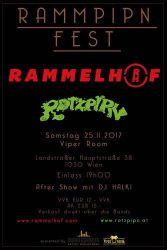 Live: RAMMPIPN FEST - RAMMELHOF, ROTZPIPN