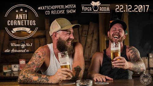 """Live: ANTI CORNETTOS Release-Show """"kaTschopperlwossa"""""""