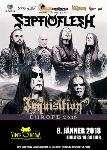 Live: SEPTICFLESH, INQUISITION, ODIOUS