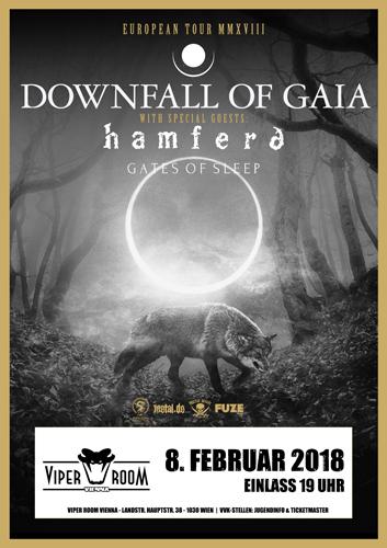 Live: DOWNFALL OF GAIA, HAMFERÐ, GATES OF SLEEP