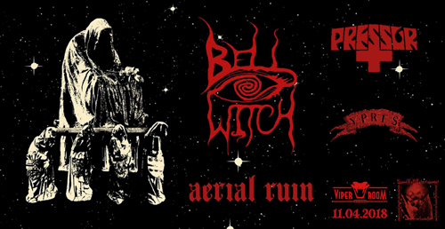 Live: BELL WITCH, PRESSOR, YPRES, AERIAL RUIN