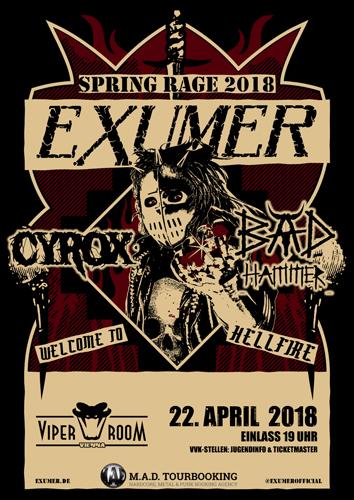 Live: EXUMER, CYROX