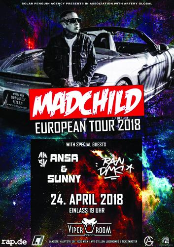 Live: MADCHILD, ANSA & SUNNY, RAN DMC