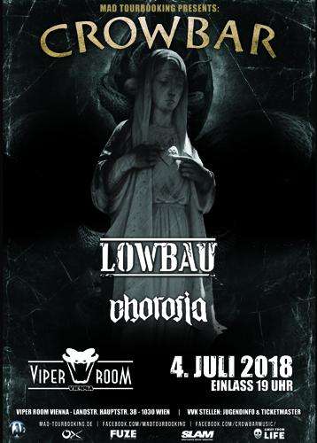 Live: CROWBAR, LOWBAU, CHOROSIA