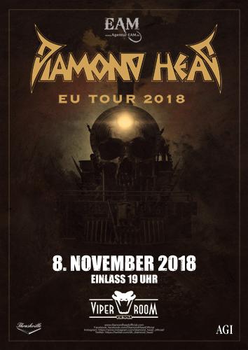 Live: DIAMOND HEAD, KÜENRING, EISENHAND