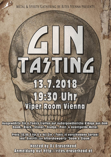 METAL & SPIRITS GATHERING - GIN TASTING