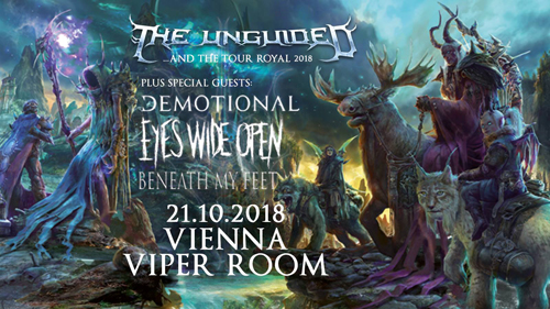 Live: THE UNGUIDED, dEMOTIONAL, EYES WIDE OPEN, BENEATH MY FEET