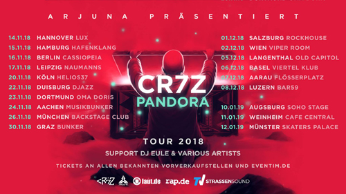 Live: CR7Z & DJ EULE, TIMELESS, SNESSIA