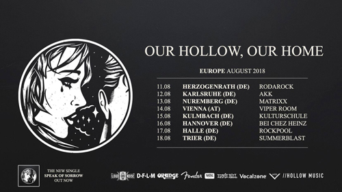 Live: OUR HOLLOW, OUR HOME and more