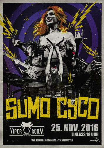 Live: SUMO CYCO, iREBEL, LIQUID MAZE, THE SHAFTONS