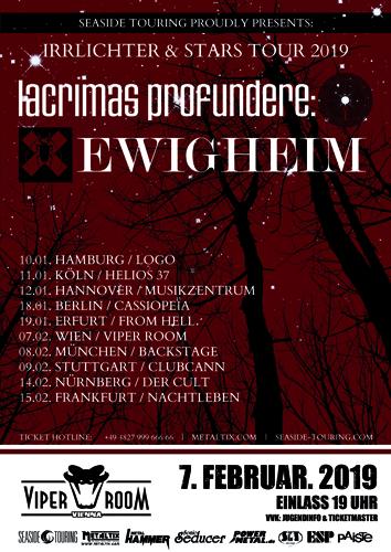 Live: EWIGHEIM, LACRIMAS PROFUNDERE