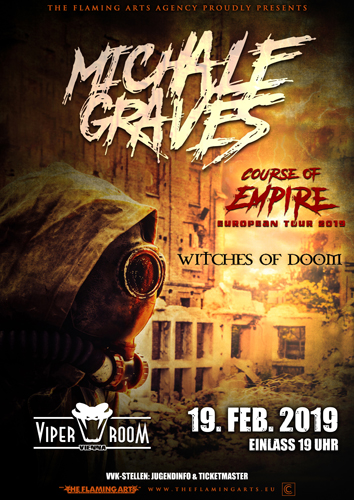 Live: MICHALE GRAVES, WITCHES OF DOOM