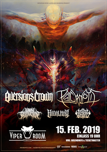 Live: AVERSIONS CROWN, PSYCROPTIC, WITHIN DESTRUCTION and more