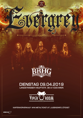 Live: EVERGREY, BLOODRED HOURGLASS
