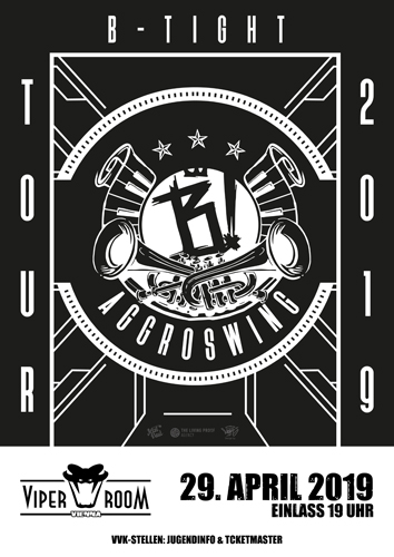 Live: B-TIGHT, HINTERKOPF, RON21, RAPTERROR