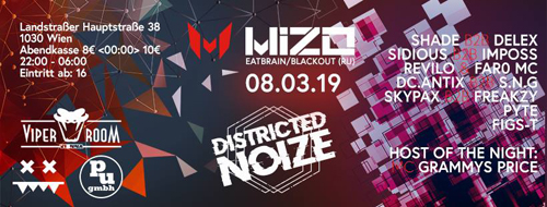 DISTRICTED NOIZE with MIZO and more