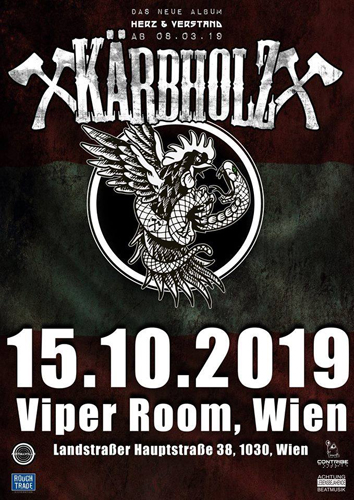 Live: KÄRBHOLZ and Support