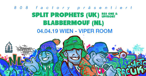 Live: SPLIT PROPHETS, BLABBERMOUF