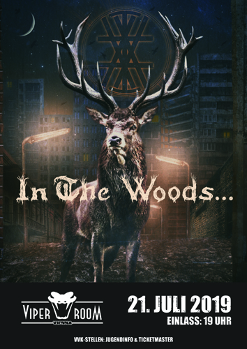 Live: IN THE WOODS..., SYNKENDE, BLACK COVEN