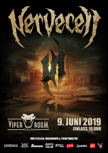 Live: NERVECELL and Supports