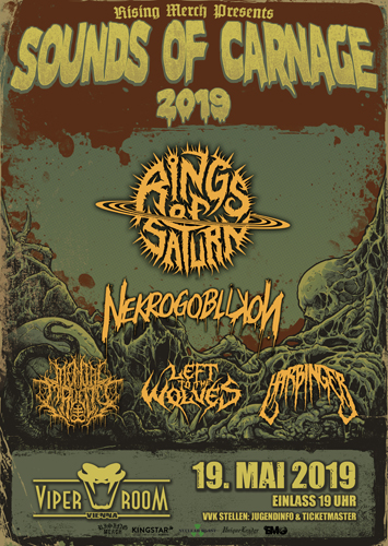 Live: RINGS OF SATURN, NEKROGOBLIKON, MENTAL CRUELTY and more
