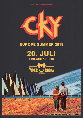 Live: CKY, CAN I SAY, HÖRST