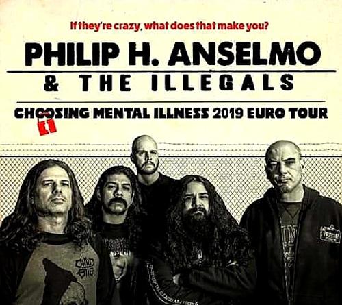 Live: PHILIP H. ANSELMO & THE ILLEGALS