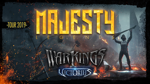 Live: MAJESTY, WARKINGS, VICTORIUS