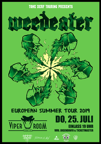 Live: WEEDEATER, KIELKROPF, INTERHELL
