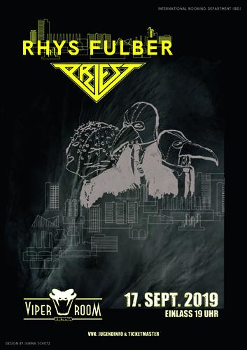 Live: RHYS FULBER, PRIEST, CRAVEN, KRYPTOMORPH