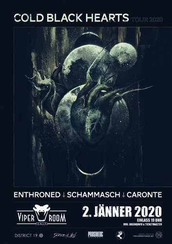 Live: ENTHRONED, SCHAMMASCH, CARONTE