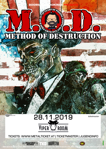 Live: M.O.D. & Supports