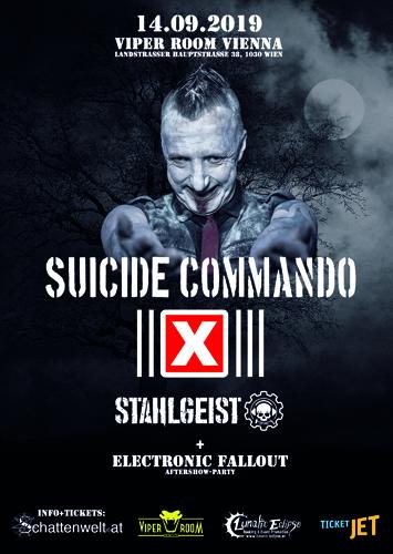 Live: SUICIDE COMMANDO, STAHLGEIST