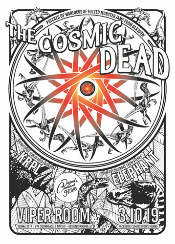 Live: THE COSMIC DEAD, KRPL, ELEPHANT
