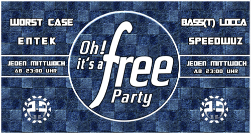 OH IT'S A FREE PARTY