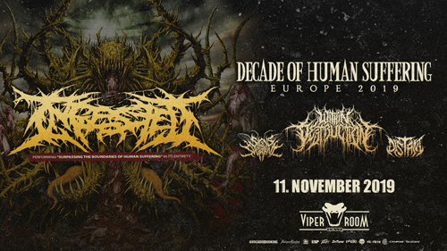 Live: INGESTED, WITHIN DESTRUCTION, SIGNS OF THE SWARM, DISTANT