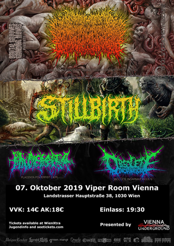 Live: XAVLEG, STILLBIRTH, PLACENTA POWERFIST and more